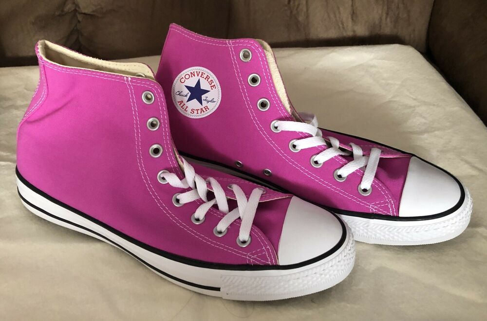 793d91992833 Details about Converse All Star Chuck Taylor CTAS OX Hyper Magenta Mens 9  Womens 11 New In Box