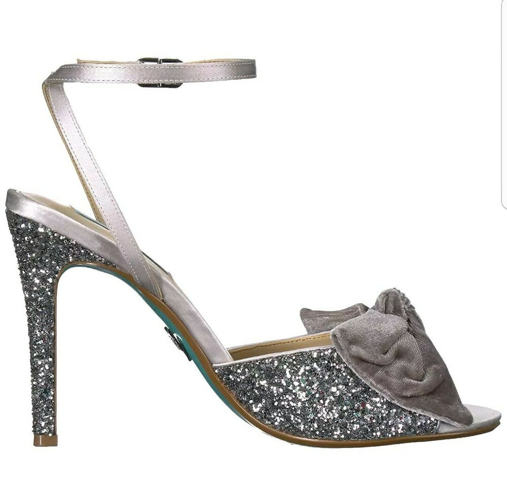 23652a3e4a76 Details about Blue by Betsey Johnson Womens SB-Jilly Heeled Sandal...Size  7.5M US