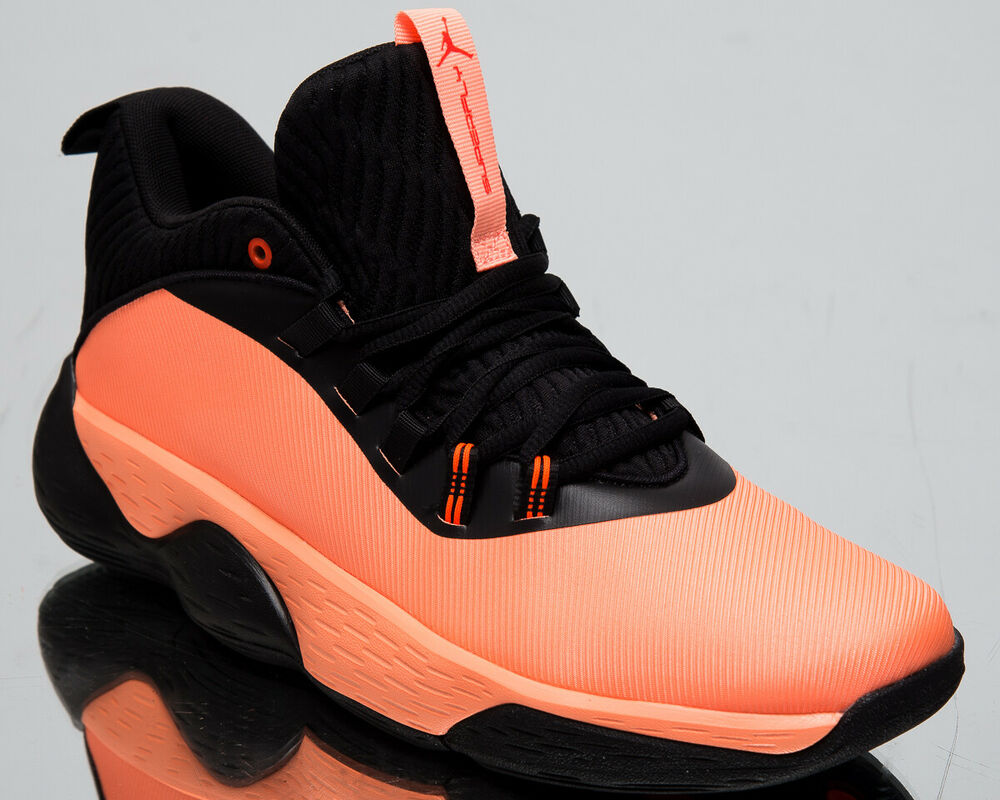 a0f3ab8629233a Details about Jordan Super.Fly MVP Low Men s New Orange Pulse Basketball  Sneakers AO6223-800