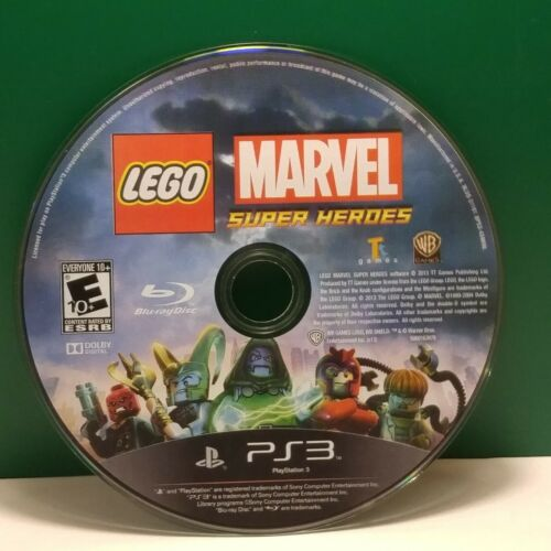 LEGO Marvel Super Heroes (Sony PlayStation 3, 2013) DISC ONLY 17552