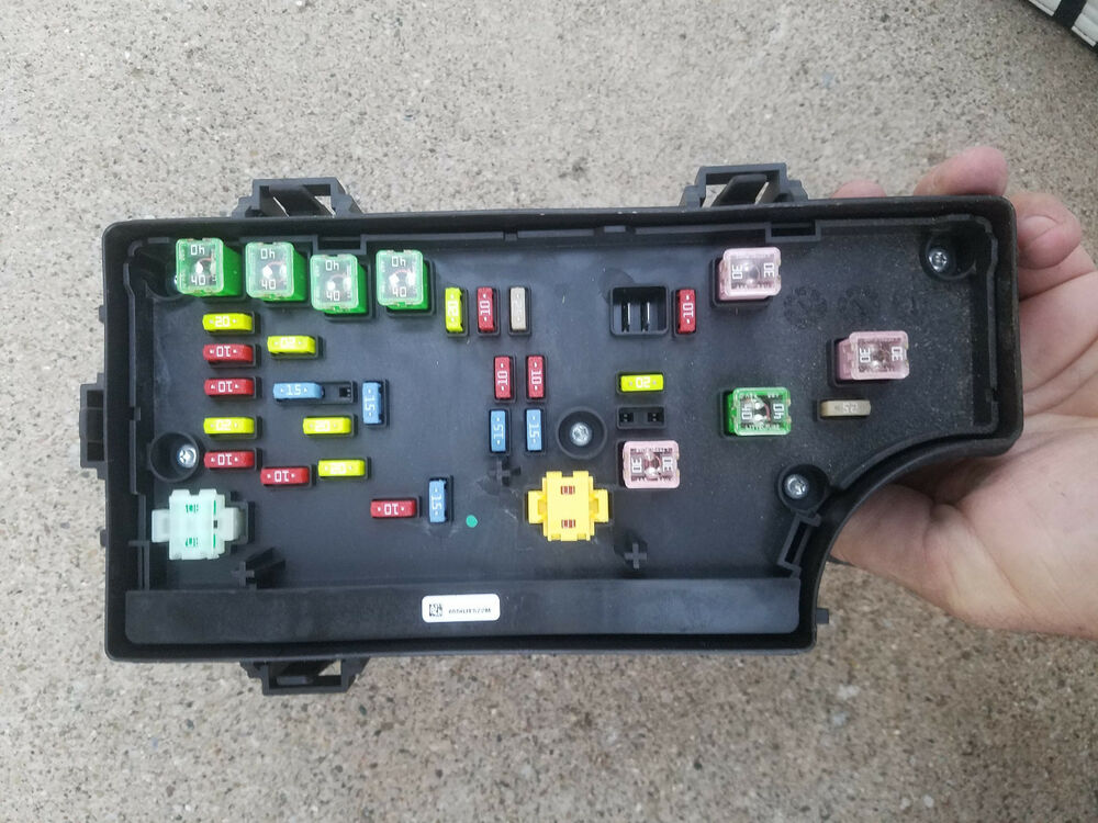 2011 2014 Chrysler 200 Dodge Avenger Fuse Box Body Control