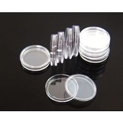 Kyпить 100 Direct Fit Airtight 19mm Coins Capsules Storage Holder for US Penny 1 cent  на еВаy.соm