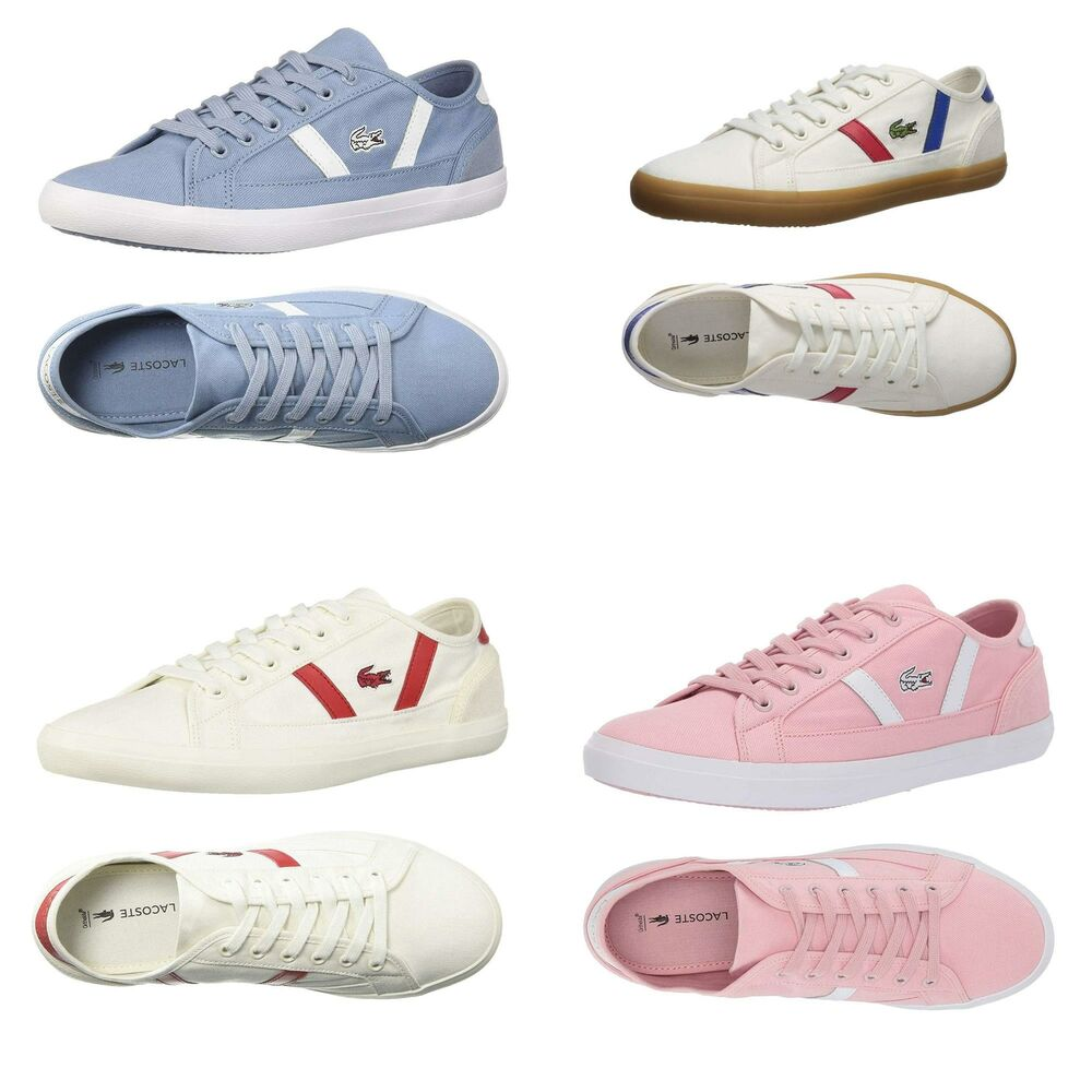 decd57c1e7f NEW Lacoste Women s Casual Shoes Sideline Lace-Up Fashion Sneakers ...