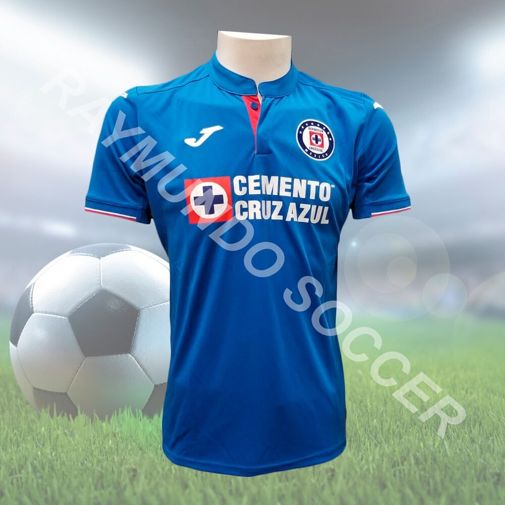 5c890631 Details about Joma Cruz Azul Jersey Home 2019