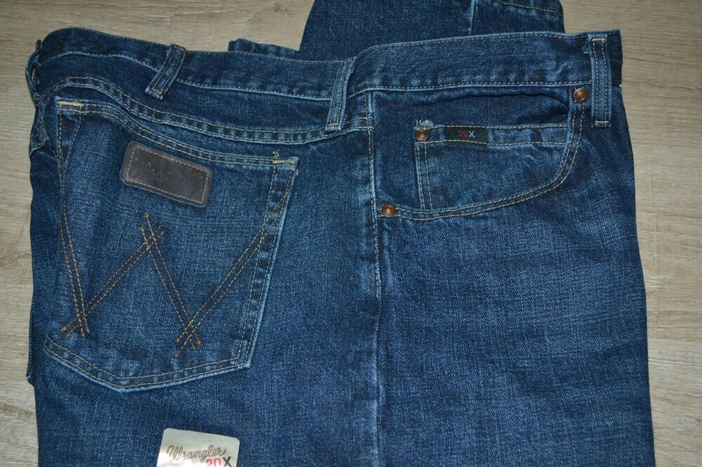 dfdbff3aa8d Details about MEN'S WRANGLER 01 COMPETITION 20X 01MWXDB Relaxed fit Jeans  $59 40X32 BOOT CUT