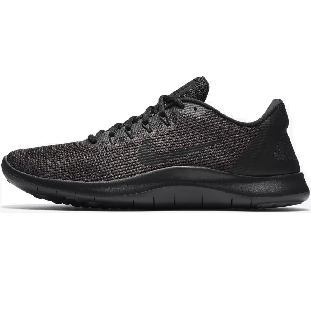 a25206ea8e77c Details about Nike Flex 2018 Running Shoes Black Dark Gray Anthracite AA7397-002  Men s NWOB