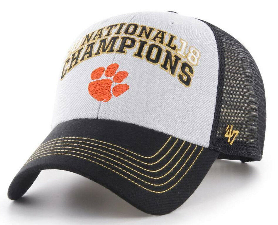 best loved 01754 5a507 Details about Clemson Tigers NCAA 2018 National Championship Snapback Hat  Cap New! 2019 CFP 47