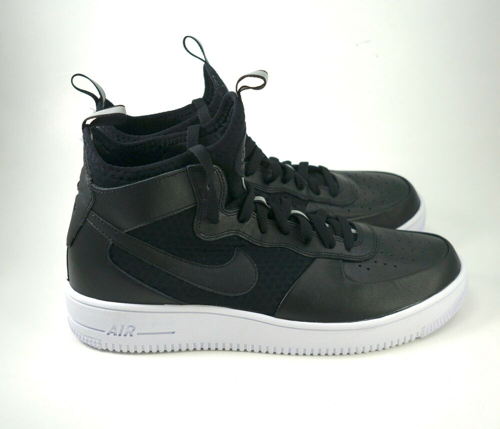 1f0d1605 New Nike Air Force 1 Ultraforce Mid Black White Men AF1 Shoes 864014-001  Mens 11 884751785610 | eBay