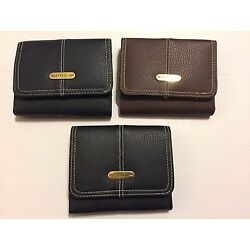 MASTER CLASS Womens Fashion Leather Wallet w/Card Holder /Pocketbook /Coin Purse