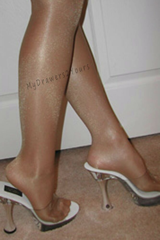 9506960b9 Details about PEAVEY HIGH GLOSS TIGHTS 40 Denier Compression Hosiery SKIN  TONE Size B C D Q