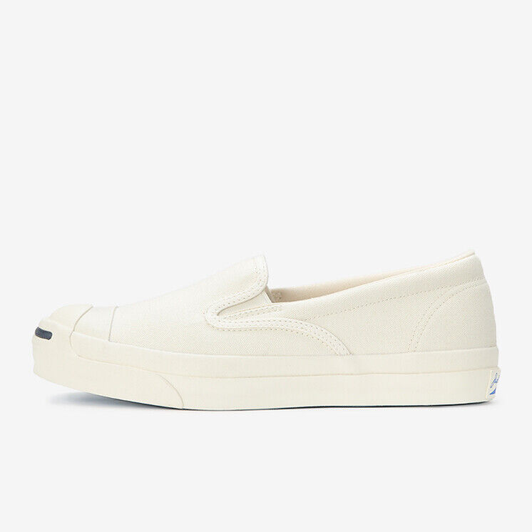 e14fd200a536 Details about CONVERSE JACK PURCELL RET SLIP-ON White Limited Japan  Exclusive