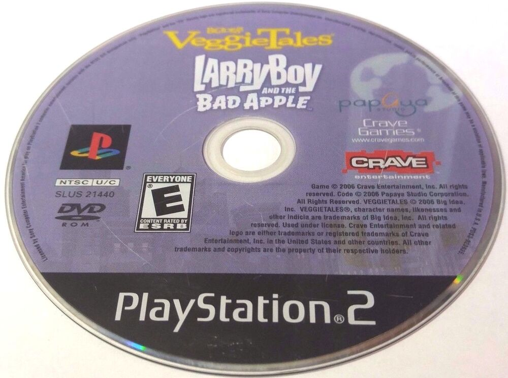 VeggieTales: Larry Boy and the Bad Apple (Sony PlayStation 2
