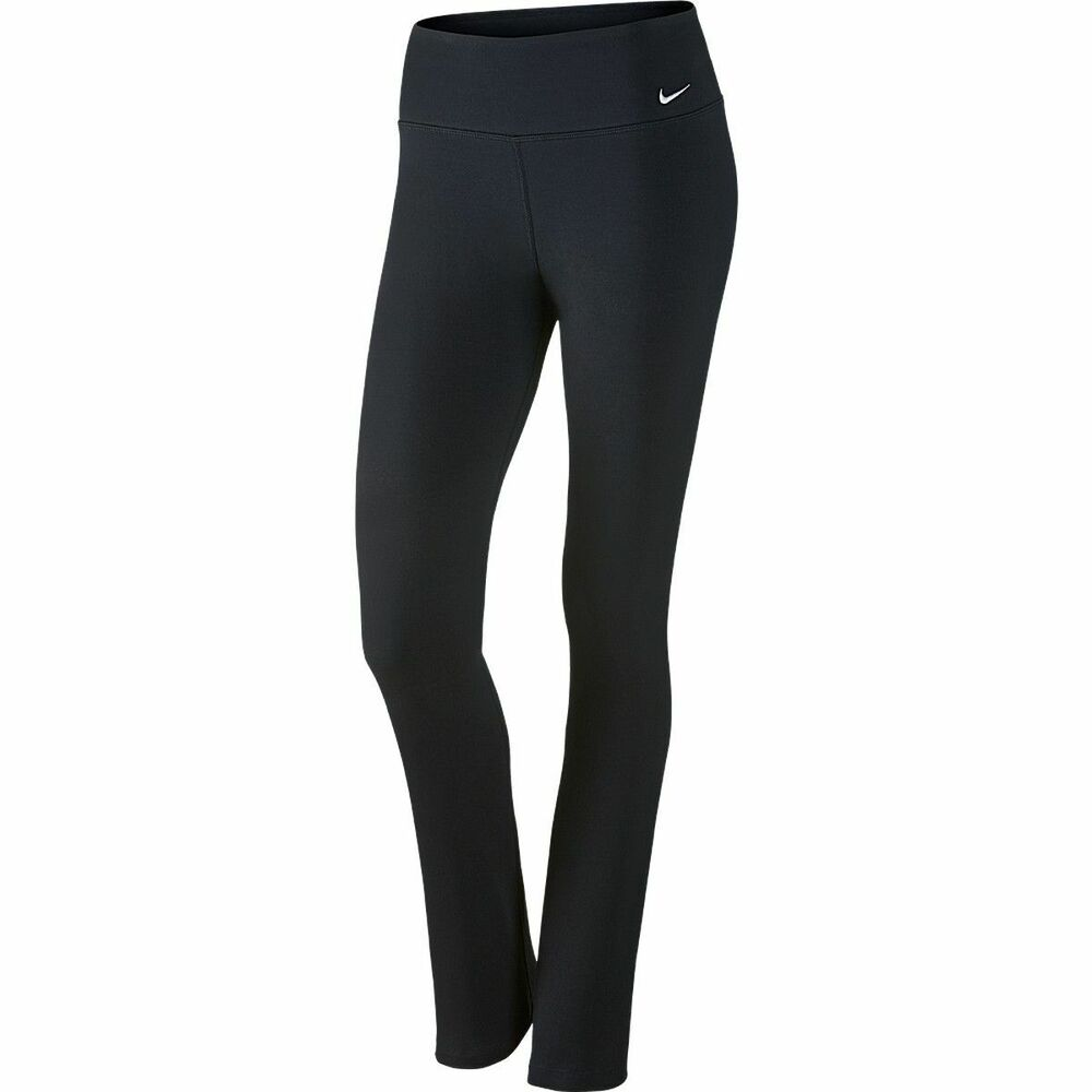 0212ac165b907 Details about NIKE LEGEND DRI-FIT STAY COOL SKINNY WOMEN PANT 725102-010  Black Size S