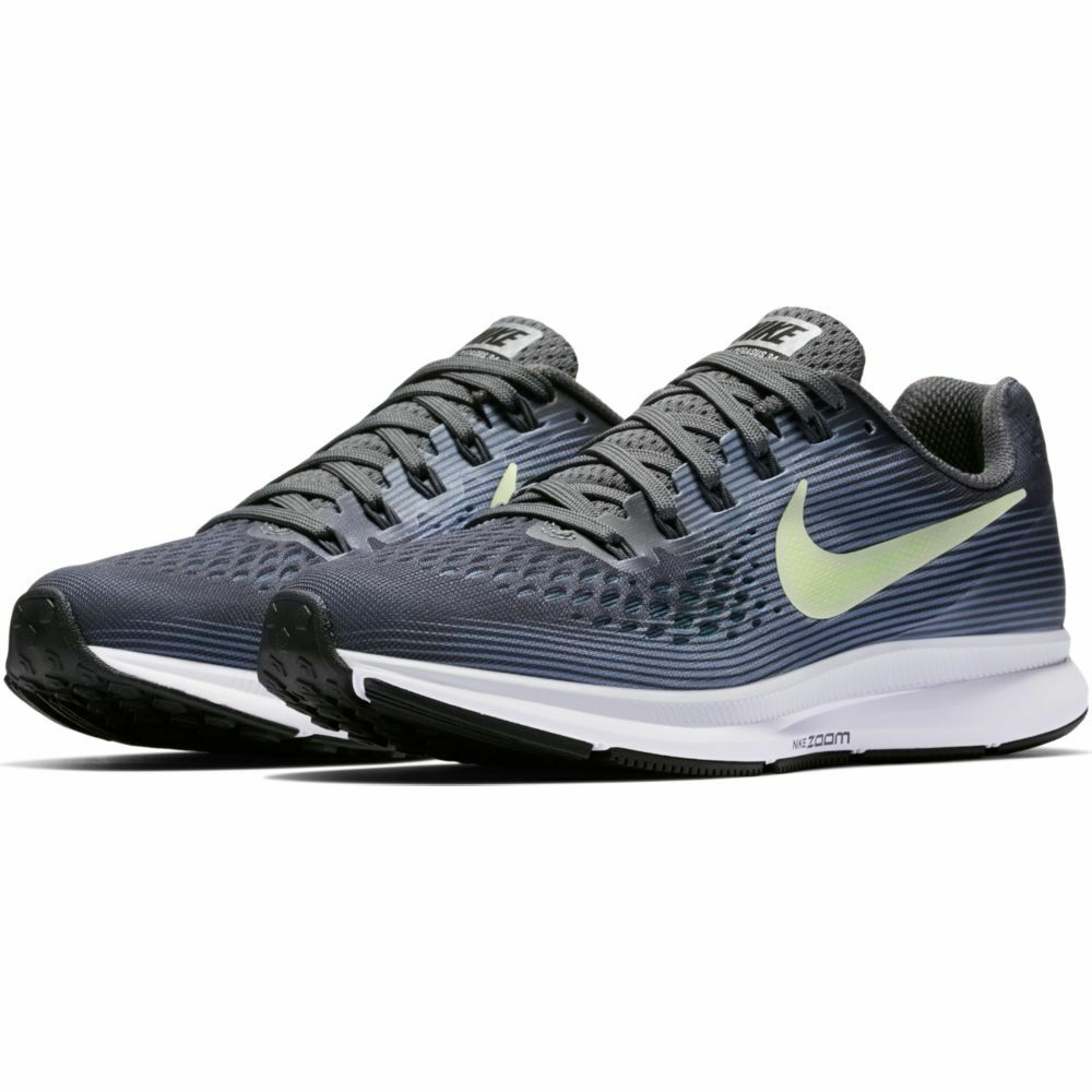 eac90d1948923 Details about Nike Air Zoom Pegasus 34 Women s Running Shoe (11   12) Grey  Volt 880560-002