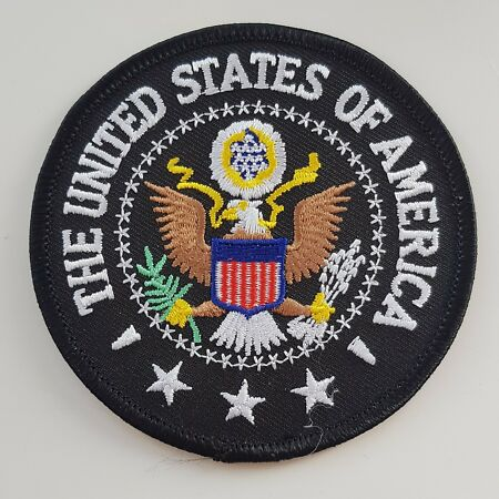 img-UNITED STATES OF AMERICA PATCH President Seal 3