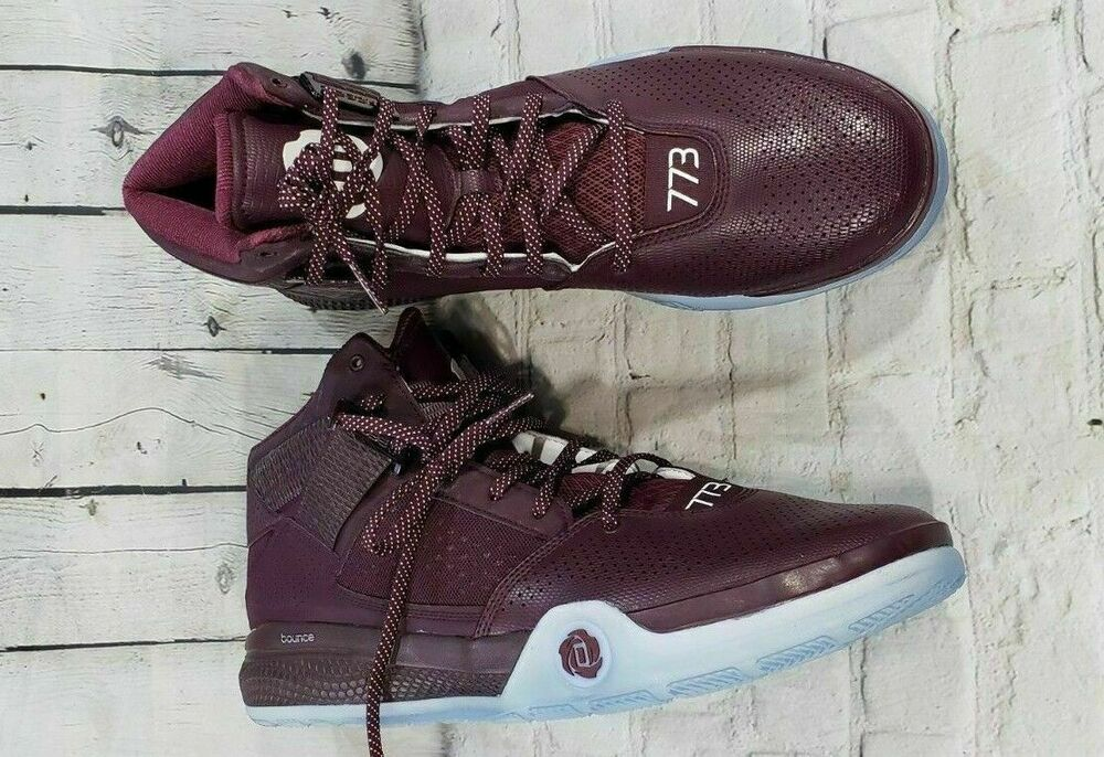 9c434bab056 Details about NEW Adidas D Rose 773 IV High Top Basketball Shoe MEN S SIZE  17 (D69430)
