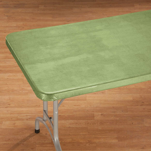 Fitted Vinyl Banquet Table Cover Elasticized Card 36 Quot Square 48x24 60x30 72x30 Ebay