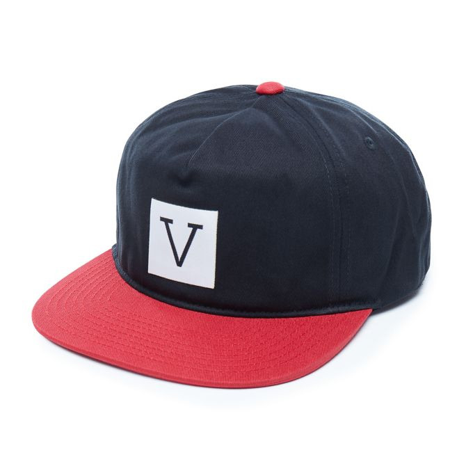 08ddff775f Vans Off The Wall X Chima Black Red White Unstructured Snapback Hat NEW NWT  191478480620