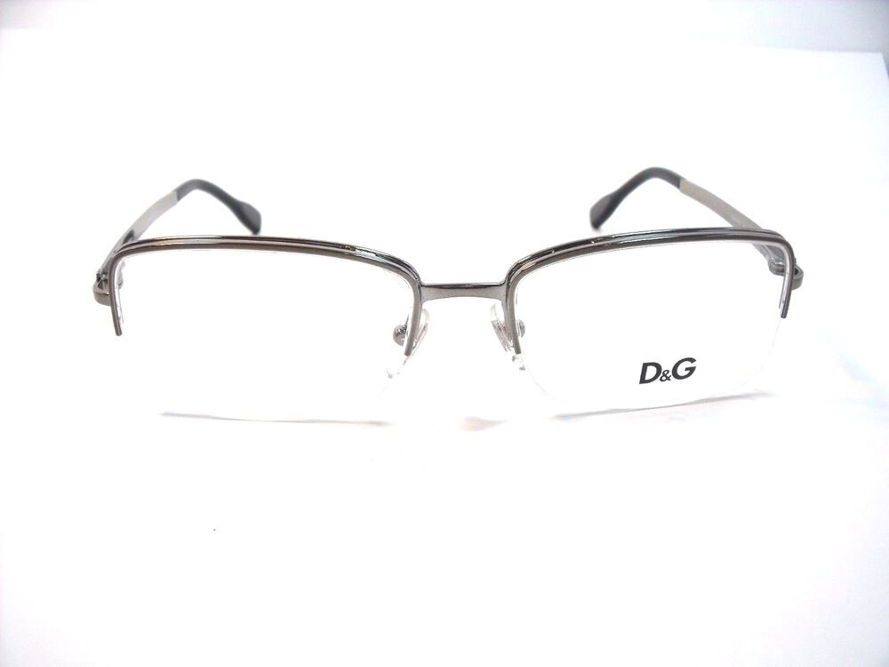 298fd5d7150b Details about Dolce   Gabbana Eyeglasses D G 5107 Silver 04 Size 52mm  Optical Frame New