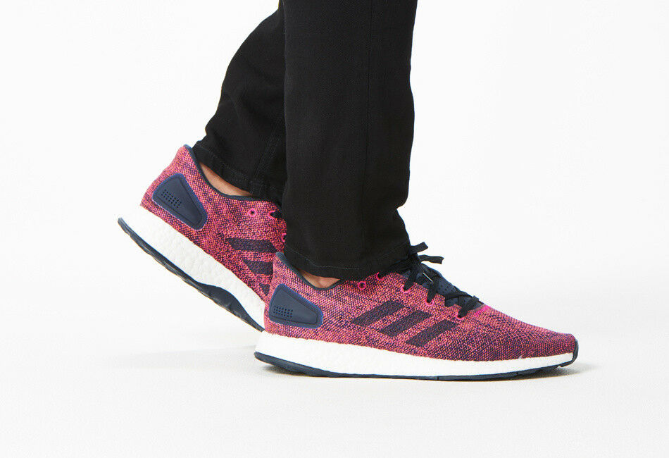 6a466489b2f3b Details about Adidas Men s Pureboost DPR LTD Running Shoes (Size 10) CG2995 PURE  BOOST Ink