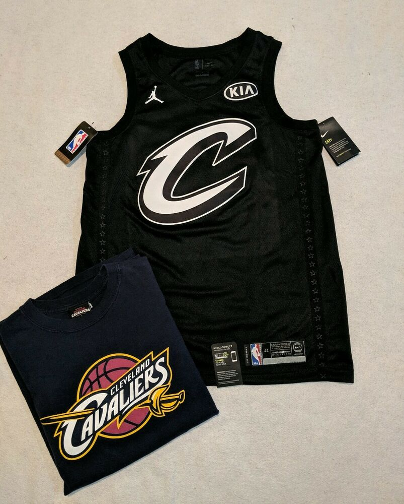 14946fc0b627 Details about NWT Jordan 2018 All Star Game ASG Cleveland Cavaliers LeBron  James 23 size 44 M
