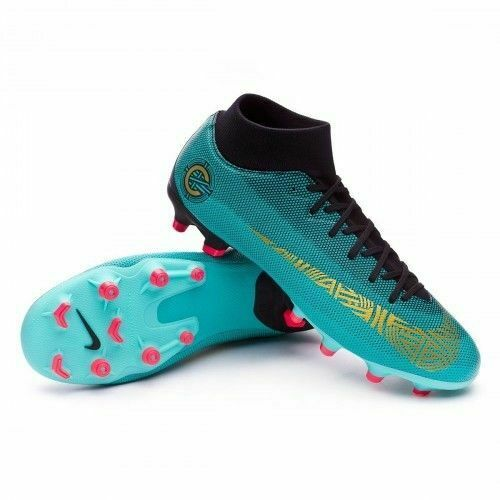 3b0abfc601b2 Details about New Nike Mercurial Superfly VI Academy CR7 MG Soccer Shoes  European Champions