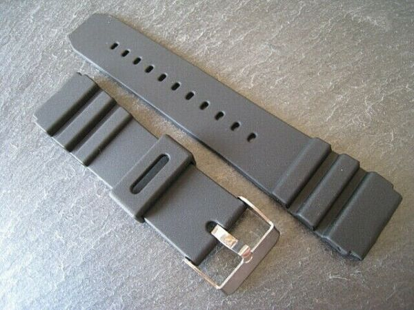 Rubber/Resin Sports Watch Strap.Water Proof. Steel Buckle. Fast delivery from UK