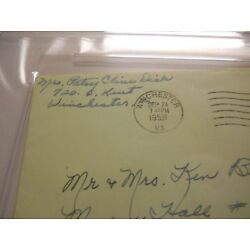 Kyпить PATSY CLINE SIGNED ENVELOPE PSA/DNA AUTHENTIC AUTO I FALL TO PIECES DECCA CRAZY на еВаy.соm