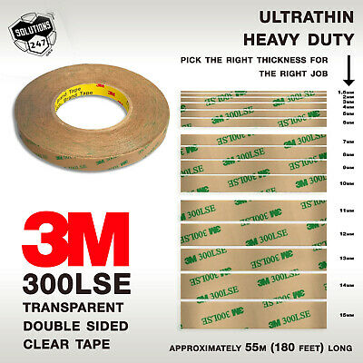 3M 300LSE 9495LE Double Sided Tape Clear Transparent 55M 180FT Phone Screen LCD