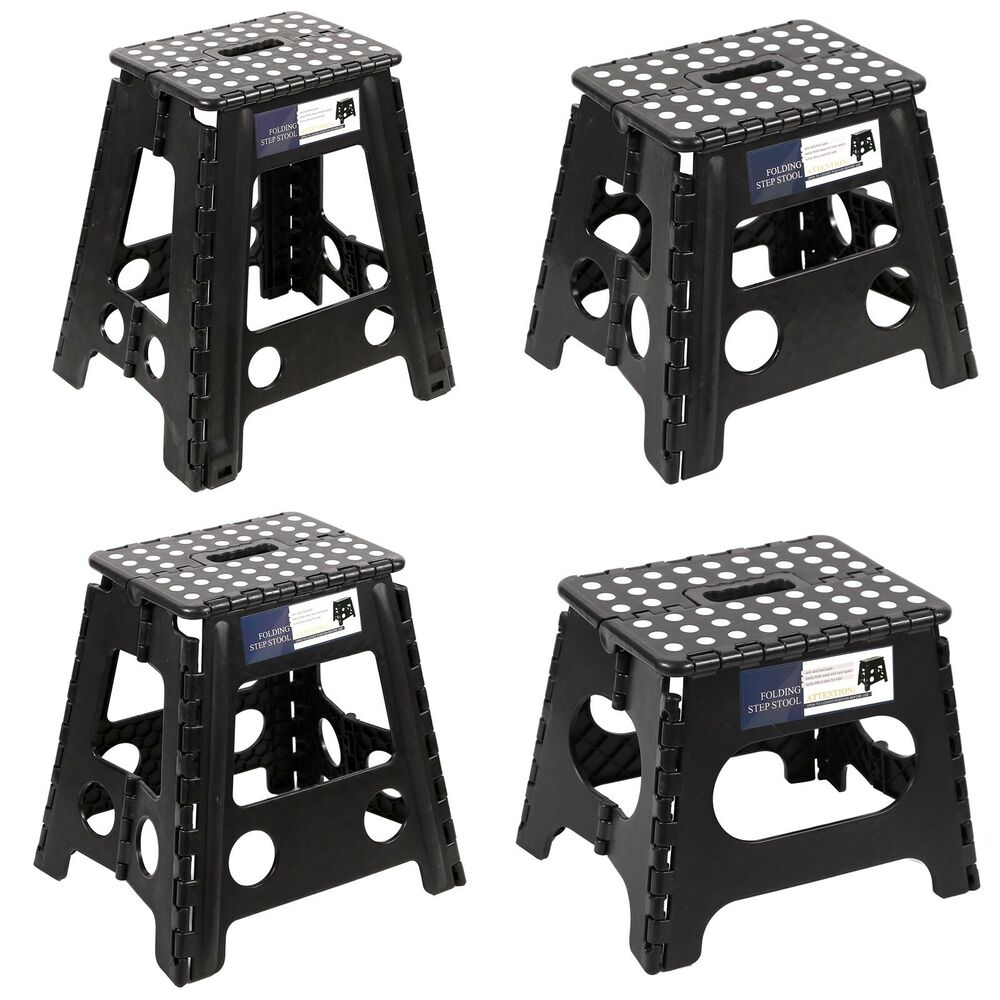 Redcamp Heavy Duty Folding Step Stool For Adults Kids With