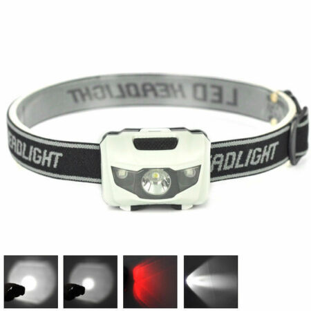 img-LED 900LM Mini Headlight Bright Headlamp Flashlight Torch Lamps Hiking Supply Su