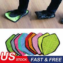 a3d357cd911e5a US Reusable Step In Sock Hands Free Shoe Covers Shoe Boot Cover Durable  Portable