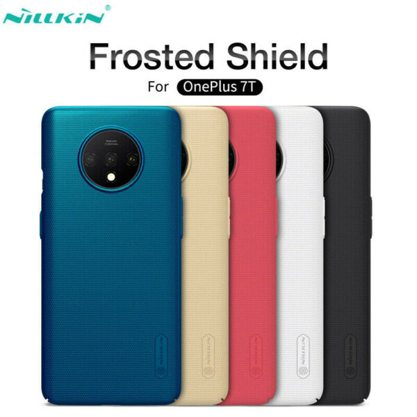 For OnePlus 7/7 Pro 6T Nillkin Super Frosted Matte Slim Hard PC Back Case Cover