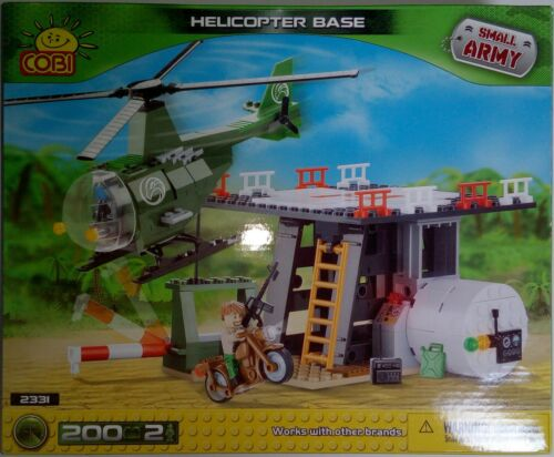 Cobi 2331 Small Army Helicopter Base Set 200 pcs