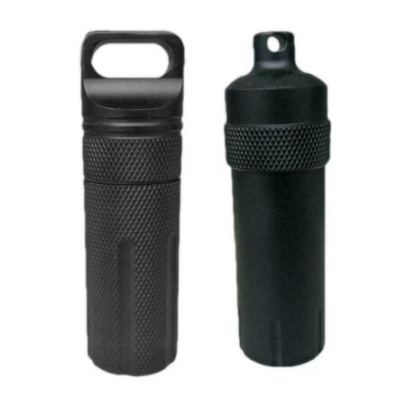 img-Aluminum EDC Survival Kit Waterproof Seal Bottle Tank Capsule Container Sto Q7J3