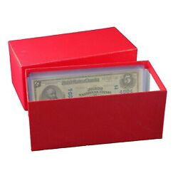 Kyпить Durable Strong Paper Money Box Banknotes Collection Large Size Currency Storage на еВаy.соm