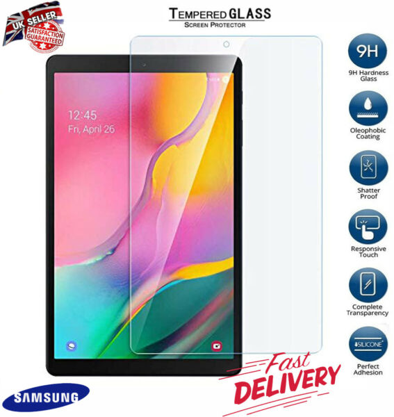Genuine Tempered Glass Screen Protector For SAMSUNG Galaxy Tab A T510/T515 10.1