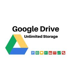 Kyпить Unlimited Google Drive Storage  (For Your Existing Gmail or G Suite ) на еВаy.соm
