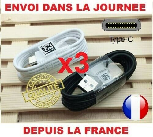 CABLE USB A+++ TYPE C 1.2 M CORDON SAMSUNG CHARGE TRANSMISSION RAPIDE S10