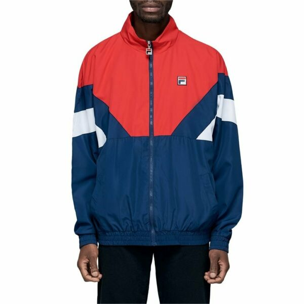 EspagneFila Katya Vintage Colour   Track top Rouge Homme