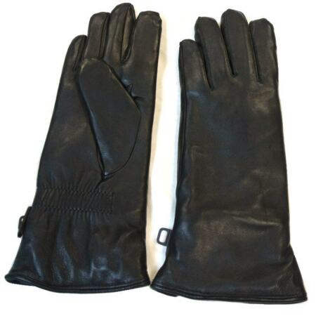 img-Black Leather Combat Gloves Soldier 2000 Issue Gloves MKII glove ~ New Size 10