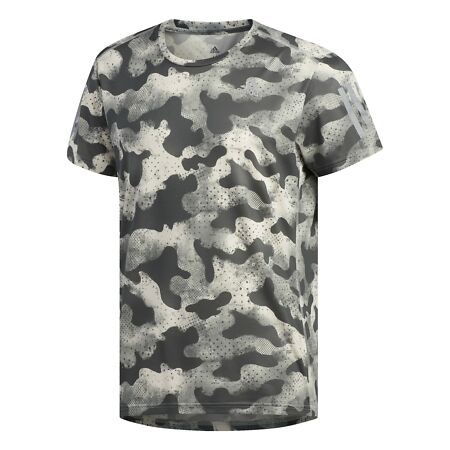 img-adidas Performance Own the Run Urban Camo T-Shirt Men Shirts;T-Shirts Green