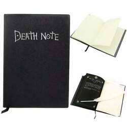Kyпить  DEATH Note book & Feather Pen Writing Journal Anime Theme Cosplay Death Note  на еВаy.соm