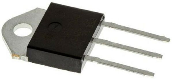 BTA26-600BW TRIAC 600V 25A Gate Trigger 1.3V 50mA, 3-pin TOP3  (QTY : 2 PEZZI)