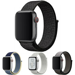 Kyпить Nylon Band Strap For Apple Watch iWatch Series 6 SE 5 4 3 2 1 38/40mm 42/44mm на еВаy.соm