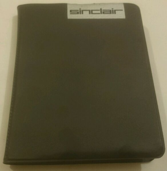 Pair of Sinclair Microdrive Tapes in Original Stylish Carry Case for ZX Spectrum