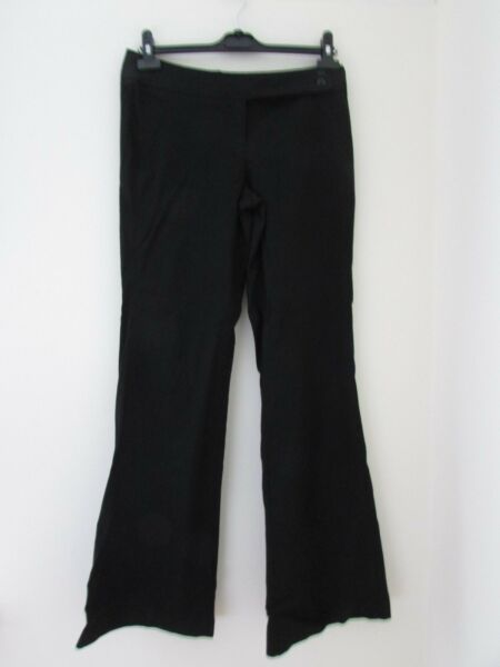 (C1189)  Ladies Trousers By Encuentro size 12 Black
