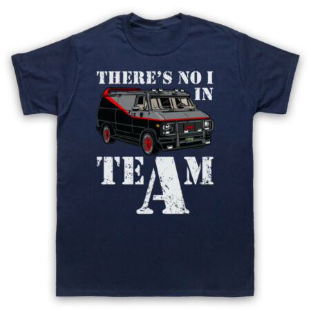img-A TEAM VAN THERE'S NO I IN TEAM PARODY BARACUS HANNIBAL ADULTS & KIDS T-SHIRT