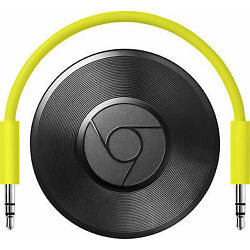 Kyпить Google Chromecast Audio Media Streamer - Black на еВаy.соm