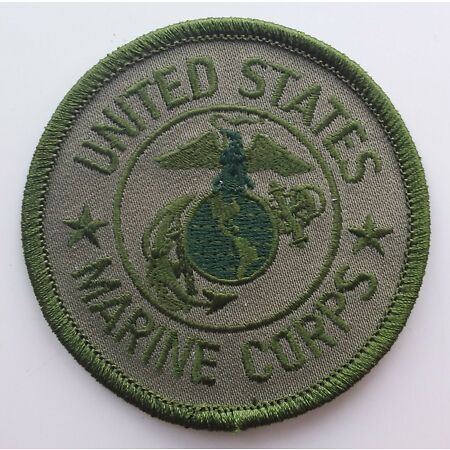 img-US MARINE CORPS PATCH Badge/Emblem/Insignia United States of America USA USMC